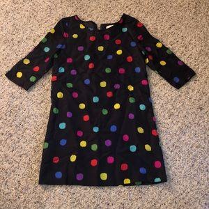 Kate Spade satin polka dot dress